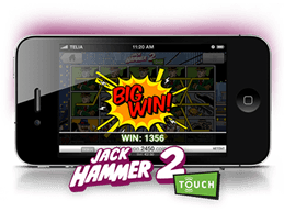 jack hammer online free play mobile slot game