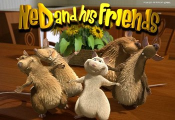Ned and His Friends slots 3D casino game by BetSoft gaming slots