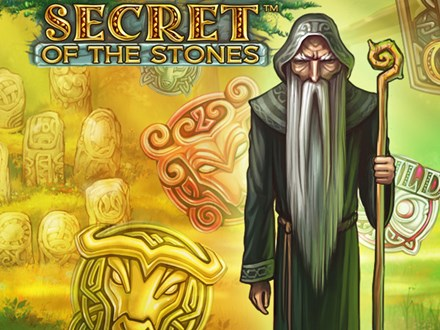 Secret of the Stones slots by NetEnt casinos