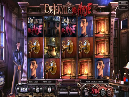 Dr. Jekyll & Mr. Hyde slots by Betsoft gaming