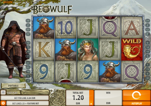 Free beowulf slot game by QuickSpin