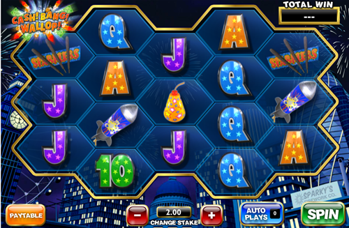 Free cash!bang!wallop! slot game by Ash Gaming