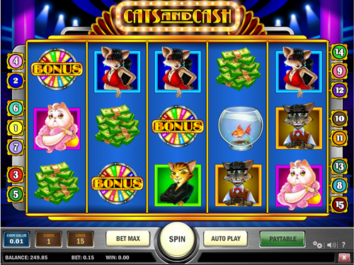 Play The Cats & Cash Slot Machine For Free With No Download