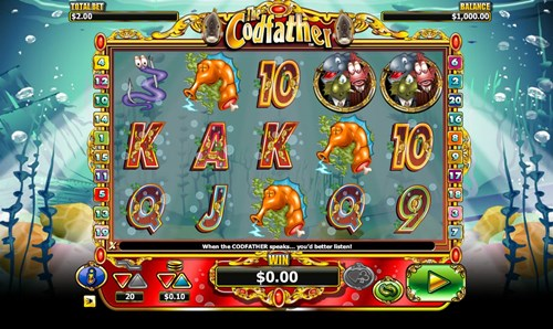 Free codfather slot game by NextGen