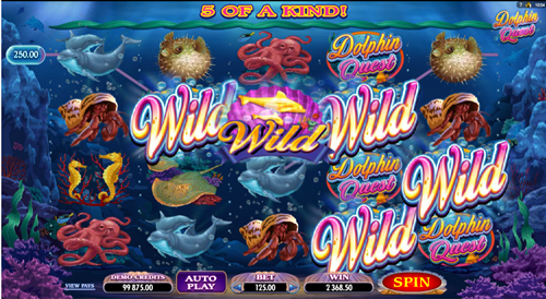 Free dolphin quest slot game by Microgaming