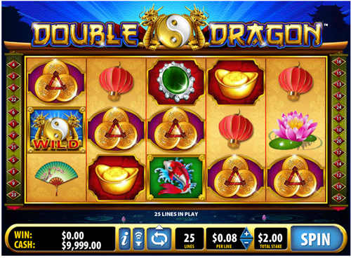 Free double dragon slot game by Bally