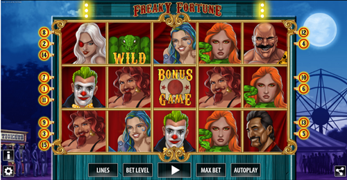 Free freaky fortune HD slot game by World Match Games
