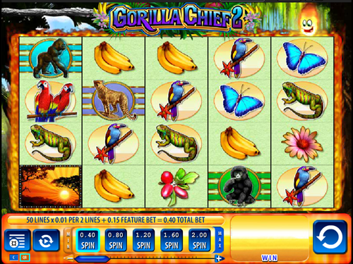 Free gorilla chief 2 slot game by WMS