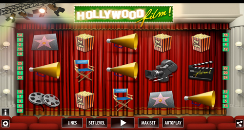 Free hollywood film 3D slot game by World Match Games