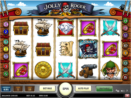 Free jolly roger slot game by Play'n Go