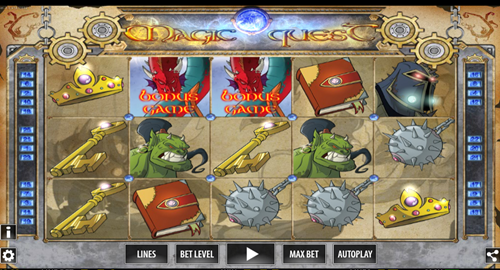 Free magic quest slot game by World Match Games