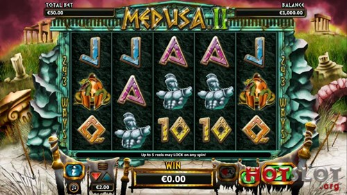 Free medusa 2 slot game by NextGen