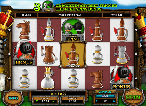Free queen of thrones slot game by Leander