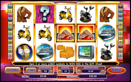 Free sale of the century slot game by OpenBet