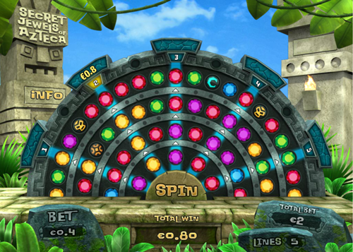 Free secret jewels of azteca slot game by Pariplay
