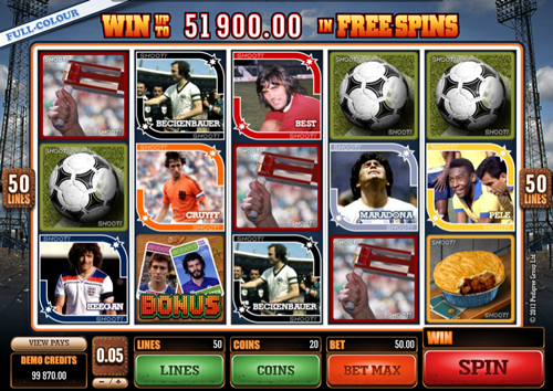 Free shoot slot game by Microgaming