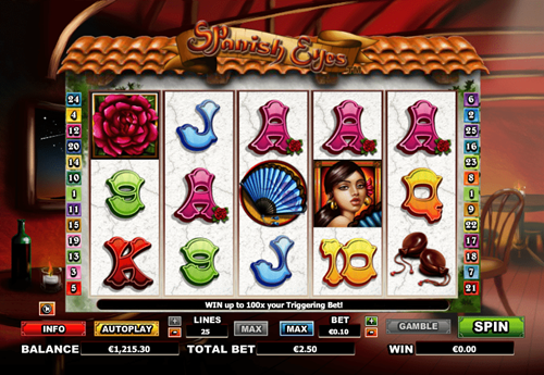 Free spanish eyes slot game by NextGen