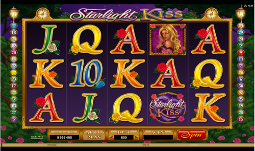 Free starlight kiss slot game by Microgaming