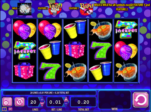 Free super jackpot party slot game by WMS