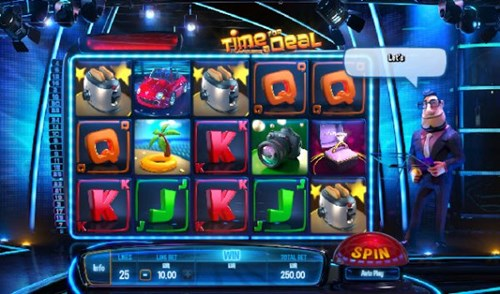 Free time for a deal slot game by Ash Gaming