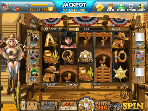 Free wild west slot game by NextGen