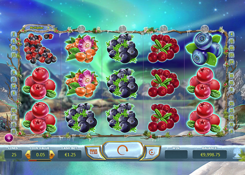 Free winterberries slot game by Yggdrasil