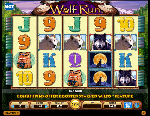 Free Wolf Run Slots By Casinos Playslots Games