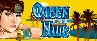 Queen of the Nile slots Aristocrat pokies